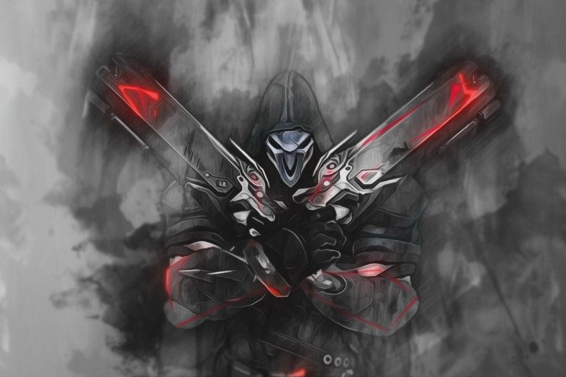 Reaper - Overwatch Wallpaper by RaycoreTheCrawler on DeviantArt