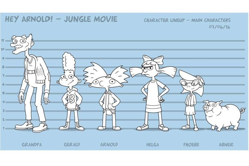 1 Hey Arnold!: The Jungle Movie HD Wallpapers | Backgrounds - Wallpaper  Abyss