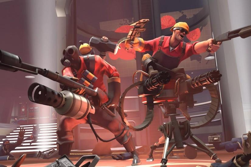Team Fortress 2 HQ Wallpaper ~ Shooter Games Wallpapers Res: 1920x1080 .