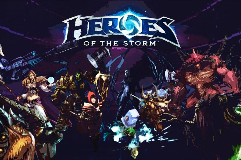 new heroes of the storm wallpaper 3000x1688 for windows 10