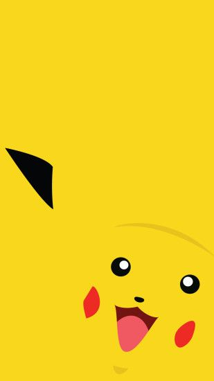 pikachu pokemon go minimal mobile wallpapers hd