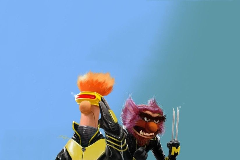 X-Men The Muppet Show crossover HD Wallpaper 1920x1080