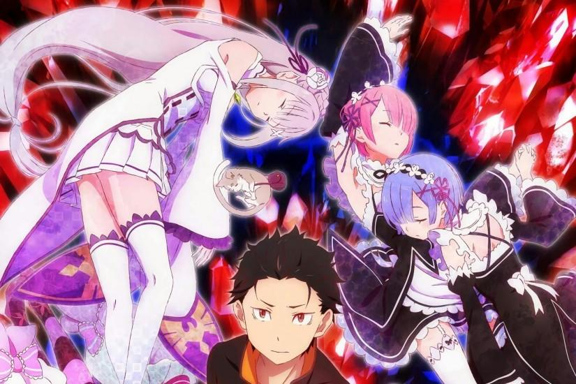 gorgerous re zero wallpaper 1920x1280