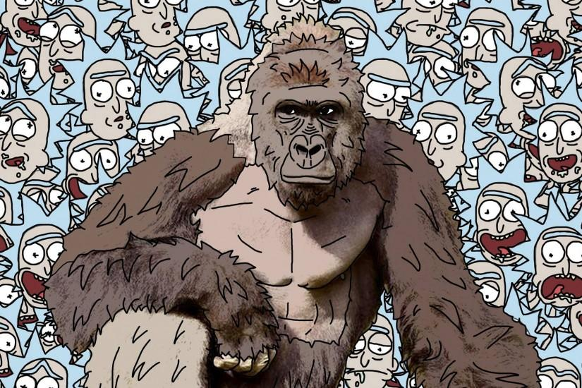 large harambe wallpaper 2048x1152 for macbook