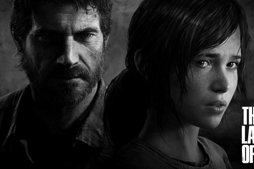 Last of Us Joel and Ellie game character. hd 1920x1080 1080p wallpaper .