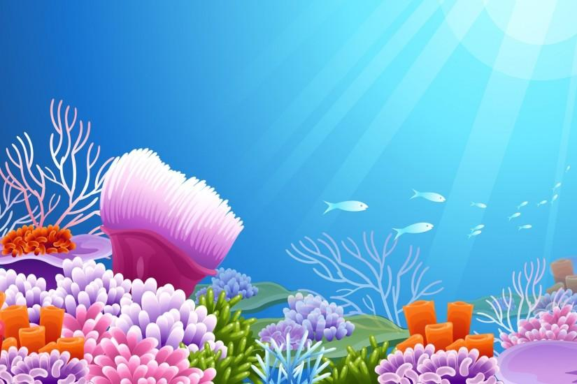 amazing underwater background 1920x1080 notebook