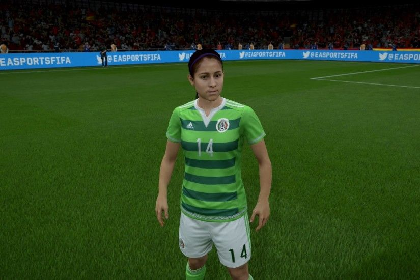 FIFA 16 - Mexico Women's National Team Player Faces