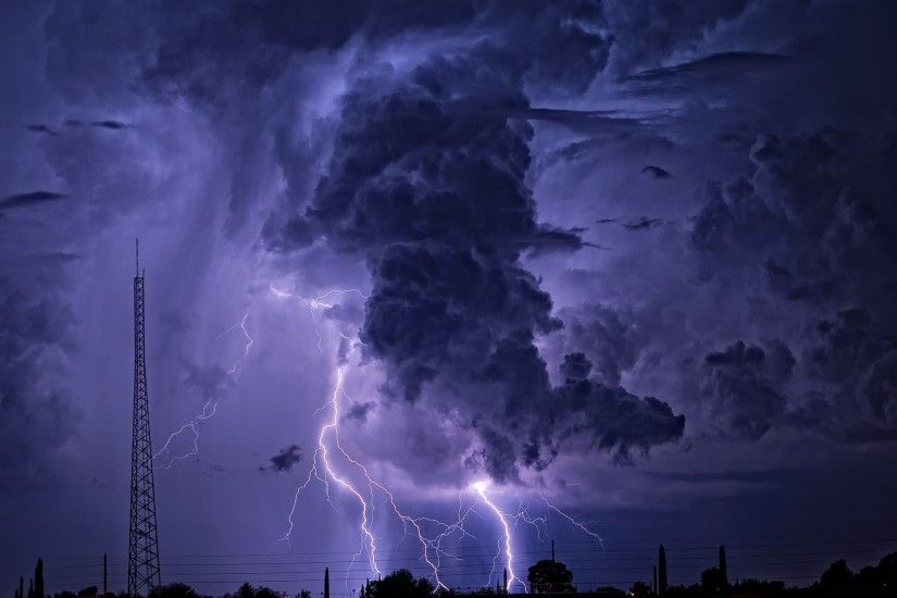 tornado, Thunder, Lightning, Storm, Nature Wallpapers HD / Desktop and  Mobile Backgrounds