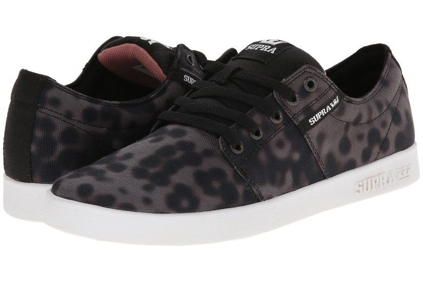 Black/Sun Bleached Canvas Supra Stacks II Shoes For sale,kasut supra,terry