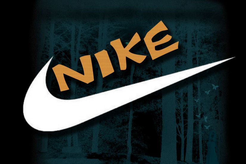 Nike logo desktop wallpaper HD.