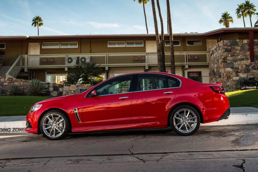2015 Chevrolet Ss Side Profile Photo 17