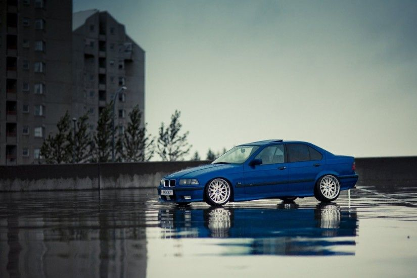 bmw e36 m3 bmw tuning stance blue
