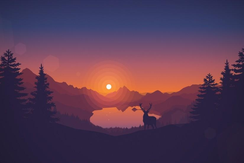 vertical deer wallpaper 1920x1080 for hd 1080p