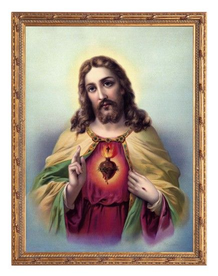 Sacred Heart Of Jesus Wallpapers - Wallpaper Cave