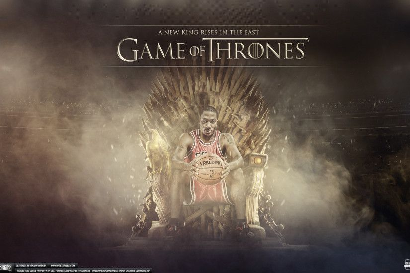 dark-master69 23 13 Derrick Rose Game of Thrones Wallpaper by IshaanMishra