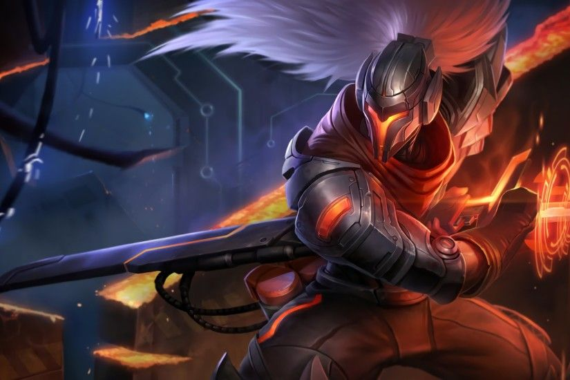 League of Legends - Yasuo/Master Yi Wallpapers [HD]