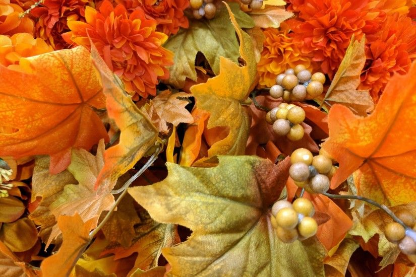 background,wallpaper,autumn,fall,foliage,leaves,decoration,berries,