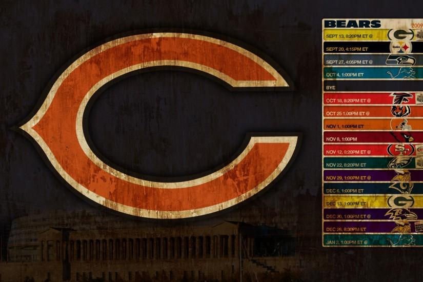 chicago bears schedule schedule