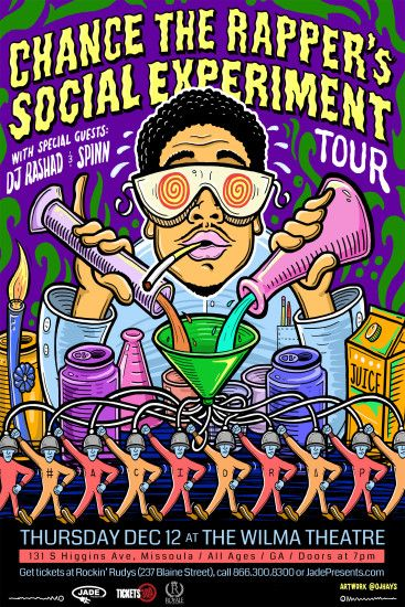Chance The Rapper Announces The Social Experiment Tour Dates