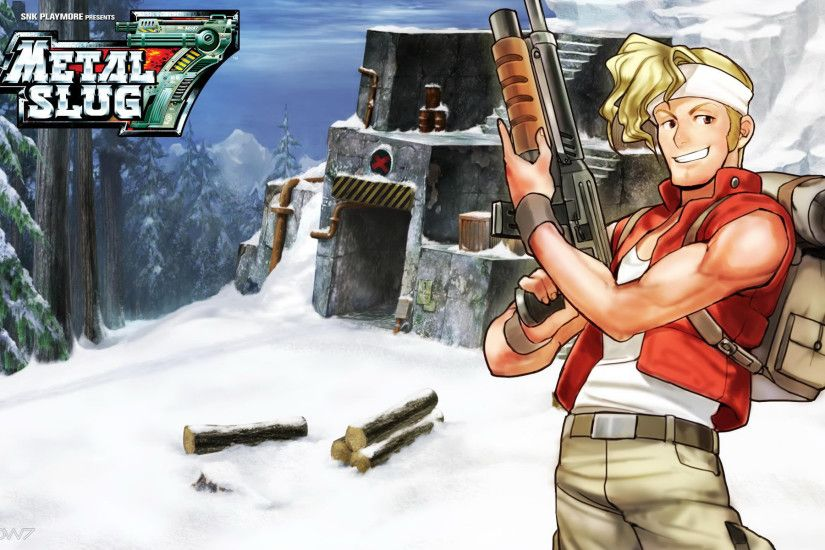 metal slug 7 marco widescreen wallpaper