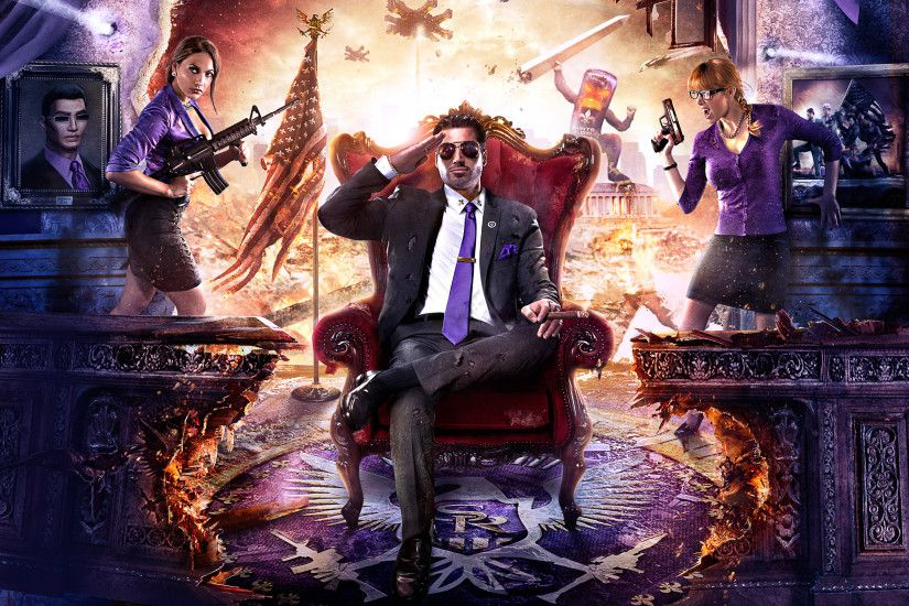 Saints Row IV Artwork