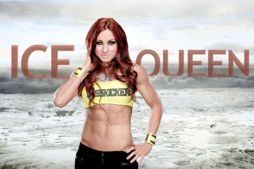 ... ICE QUEEN - Becky Lynch (Wide Quad HD) by CagatayDemir