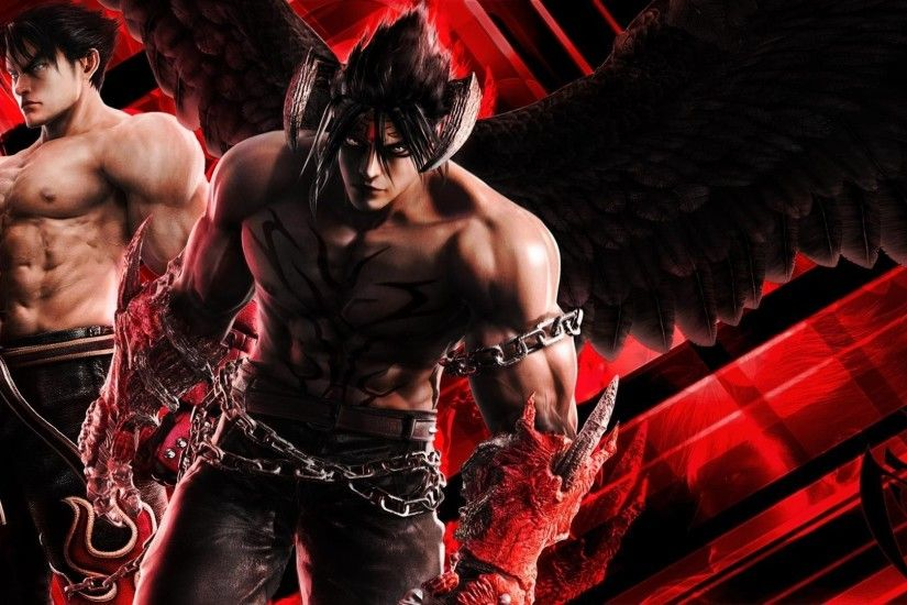 Tekken wallpaper Devil Jin by niner on DeviantArt