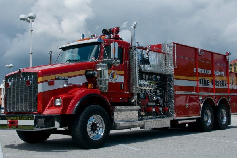 Kenworth Fire Truck Wallpaper