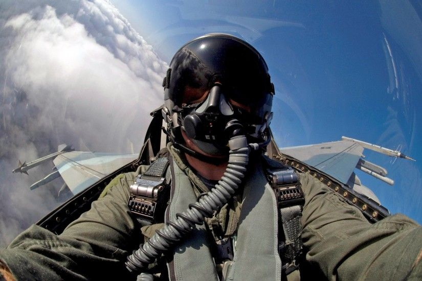 aicraft military pilot f16 hd wallpaper
