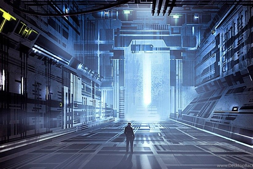 Futuristic Wallpapers 1920X1080 Fantasy, Futuristic, Men, Buildings .