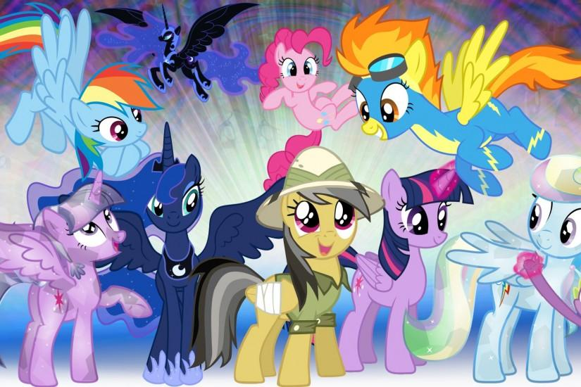 ... My Youtube Background - Ponies! by Bdgs