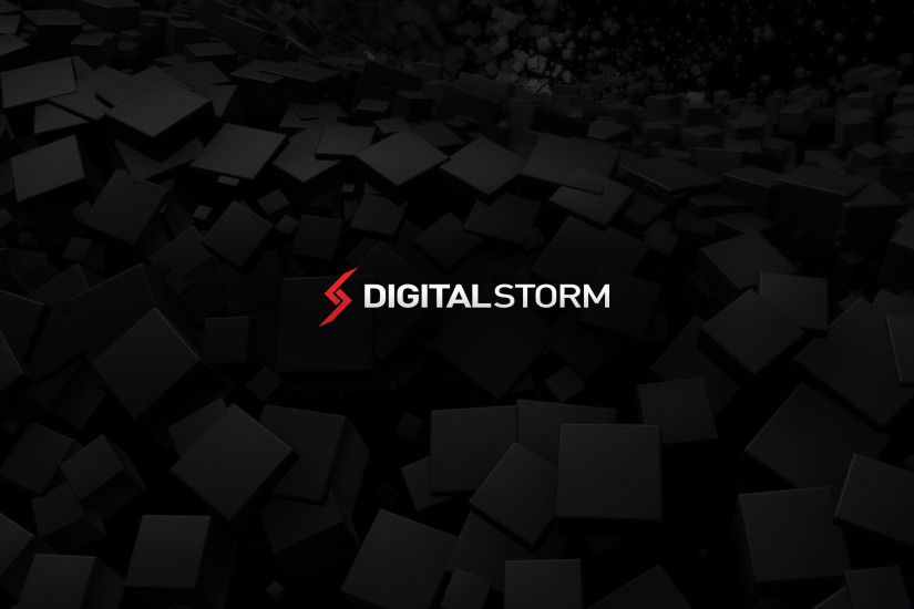 f. Digital Storm Black Hole Wallpaper