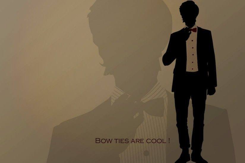 eleventh doctor doctor who bowtie 1680x1050 wallpaper Art HD Wallpaper