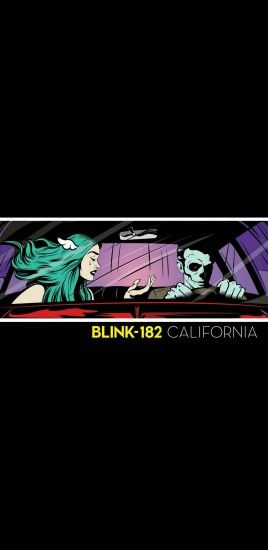 Made a California DLX wallpaper for mobile phones :) Happy blink day!