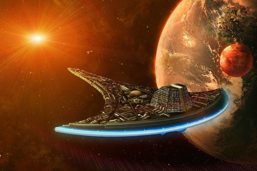 "Download wallpaper ""Destiny"", ""Destiny"", starship, ..."