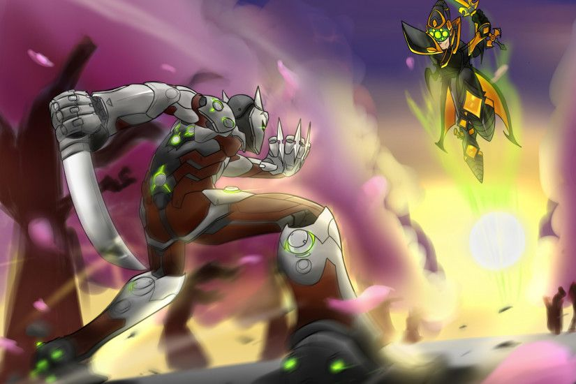 ... Overwatch X League of Legends: Genji vs Master Yi by Warlic217