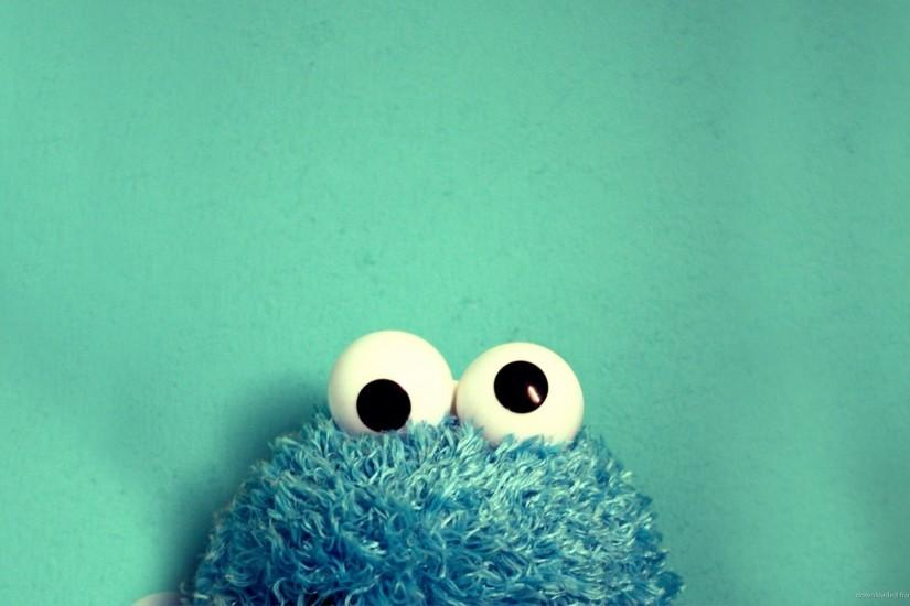 Cookie Monster Toy Wallpaper For Samsung Galaxy Tab