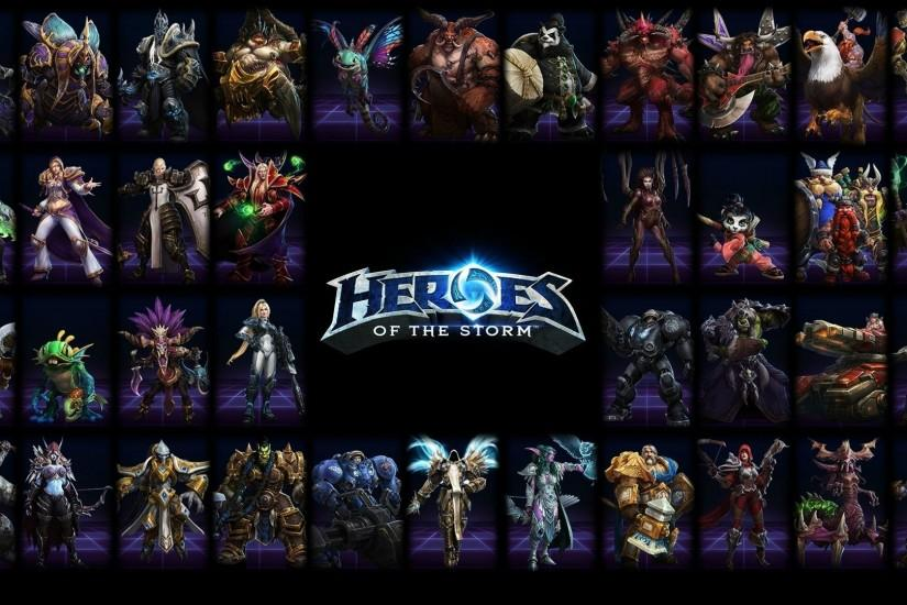 top heroes of the storm wallpaper 1920x1080 ios