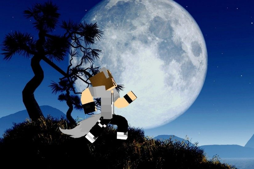 MINECRAFT: Wallpaper | Howling Wolf Boy by XPrettyPinkPrincessX on .