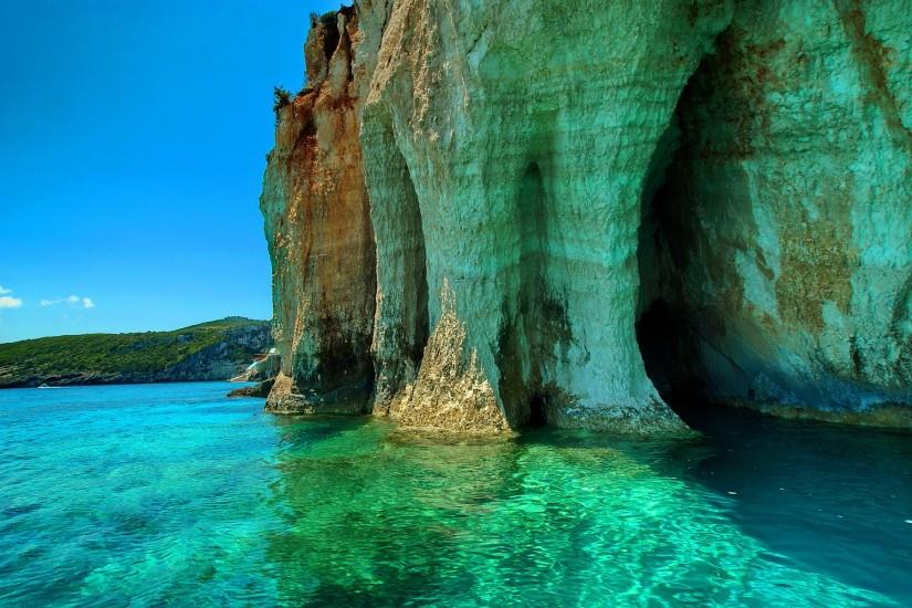 ... Green sea zakinthos greece