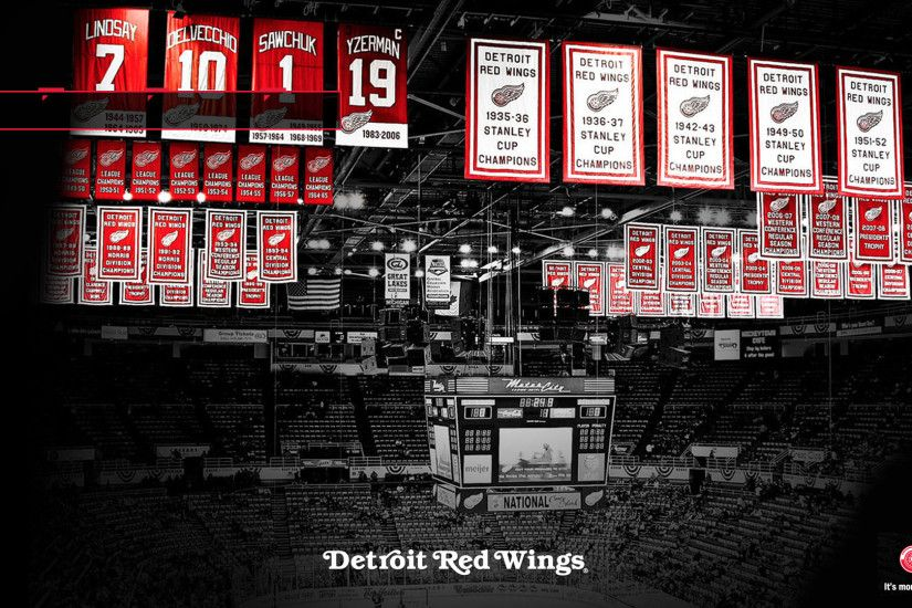 Detroit Red Wings Banners Theme ...