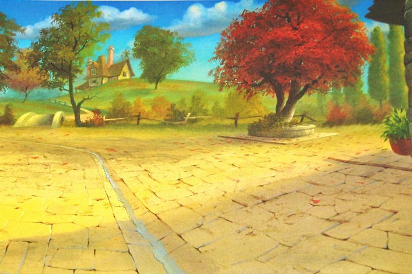 Photo of Walt Disney Backgrounds - Beauty and the Beast for fans of Walt  Disney Characters