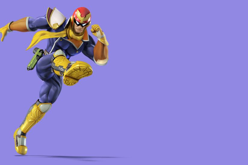 ... Smash Wallpaper - Captain Falcon ...