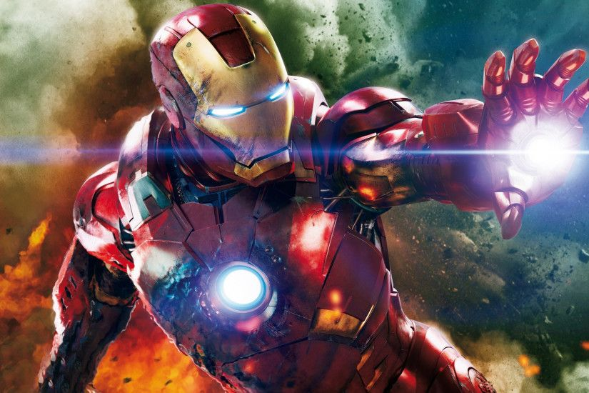 Iron Man fighting! 1920x1080 wallpaper