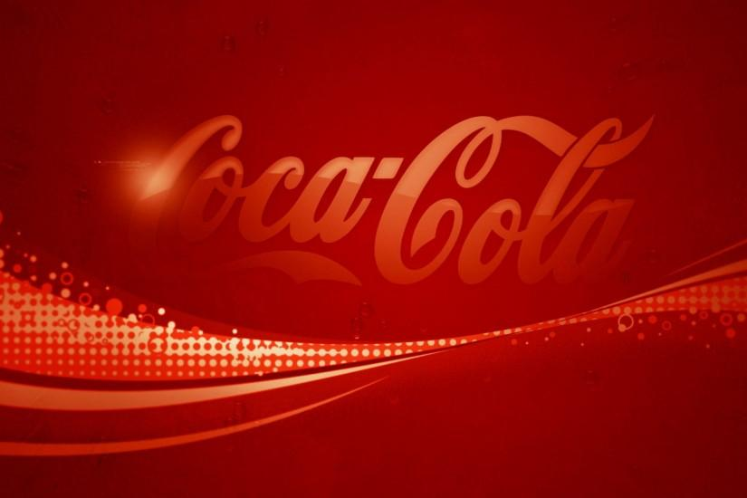 Preview wallpaper coca-cola, drink, soda, background, brand, logo 2048x2048