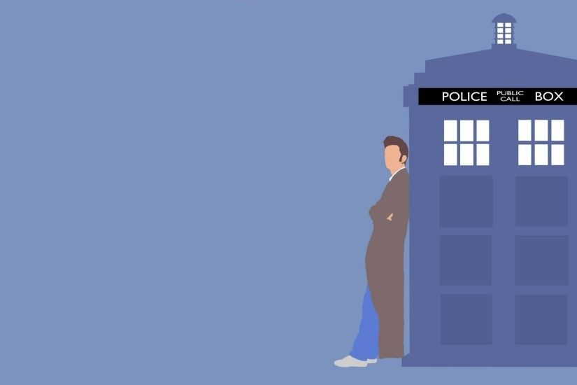 Doctor Who, The Doctor, TARDIS, Tenth Doctor Wallpaper HD