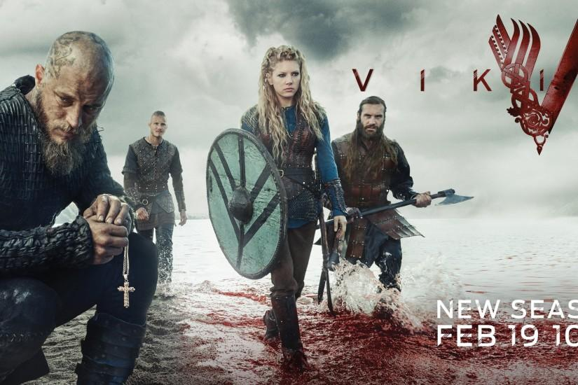 free download vikings wallpaper 3601x1463
