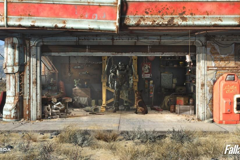 Fallout, Video Games, Apocalyptic, Brotherhood Of Steel Wallpaper HD