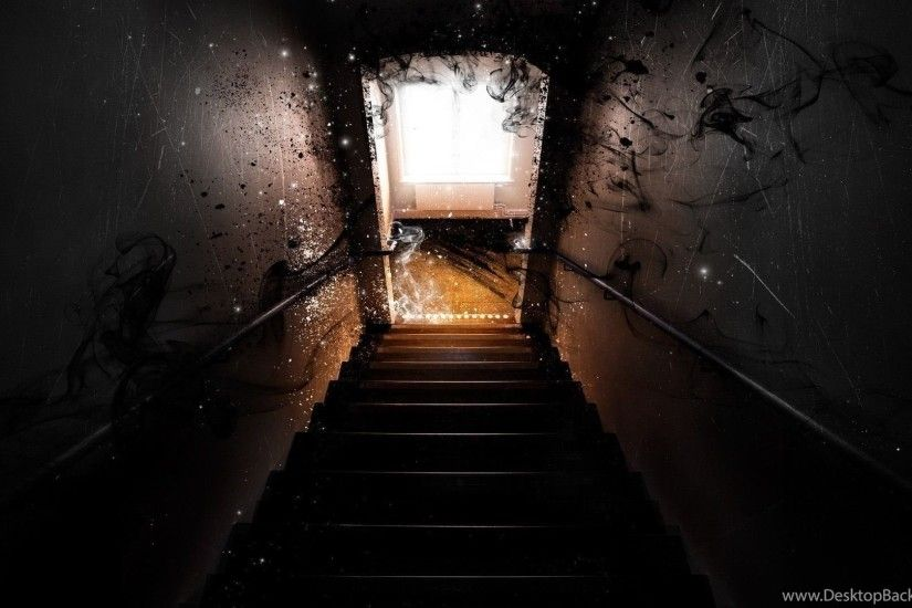 Scary Stairs Wallpapers Digital Art Wallpapers