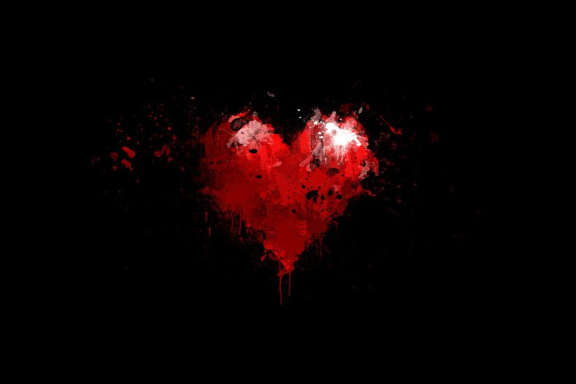 Awesome Heart Background 17775